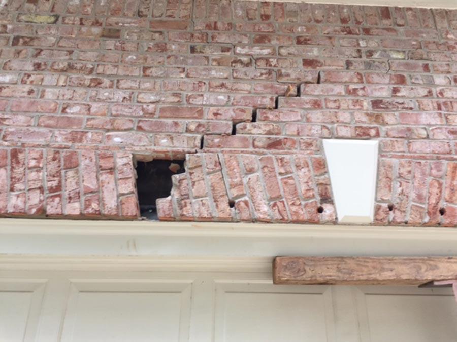 Garage Column Amp Lintel Repair Jsa Specialists Atlanta